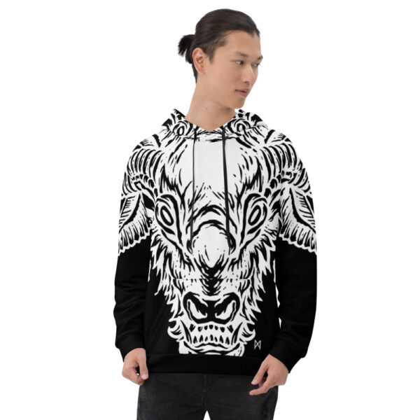 all over print unisex hoodie white front 60b9554acc830