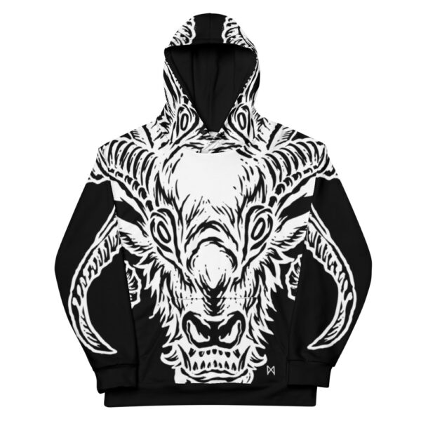 all over print unisex hoodie white front 60b9554acce7d