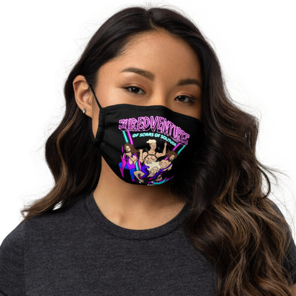 all over print premium face mask black front 61110636cf0b9