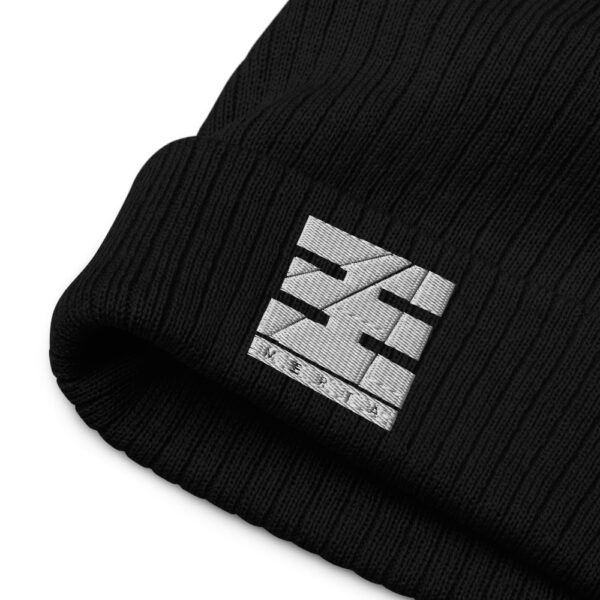 recycled cuffed beanie black product details 616009f2bfeab.jpg